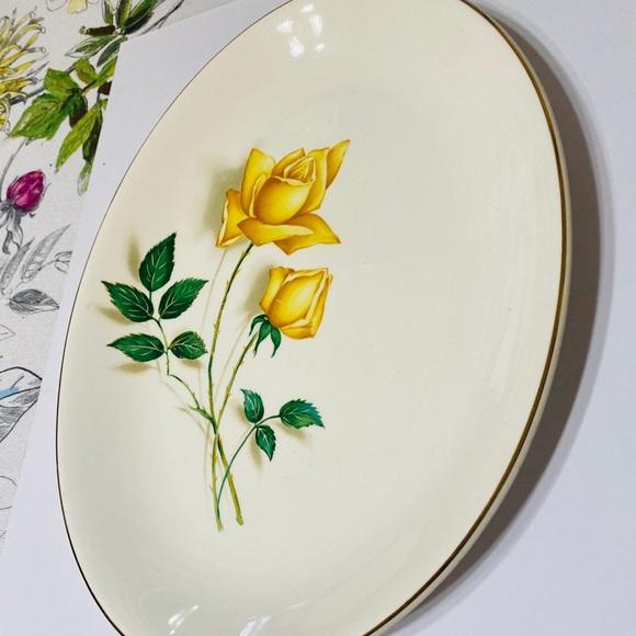 Vintage Other - Vintage Serving Platter Simplicity By Canonsburg